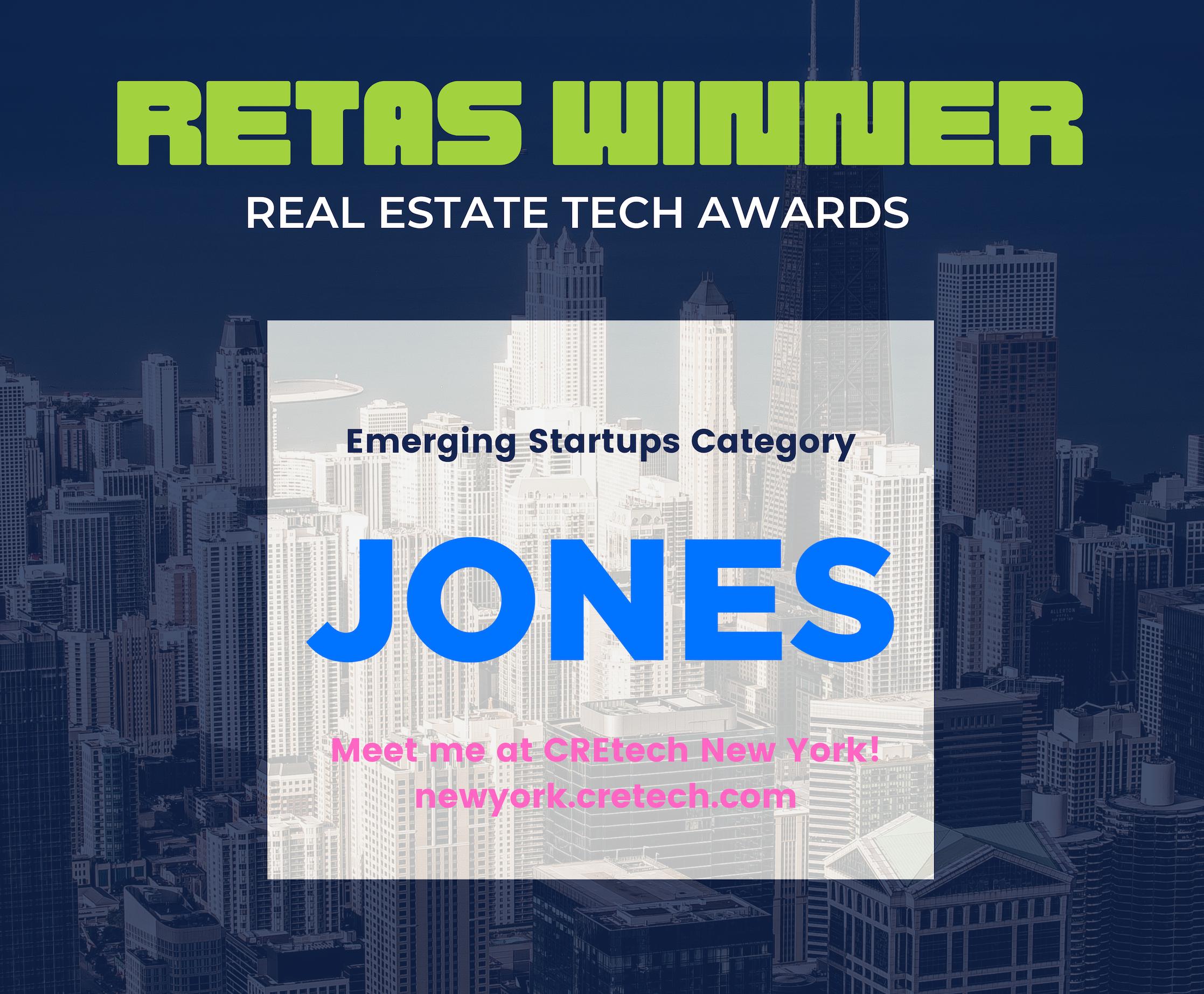 Jones is RETAS Winner